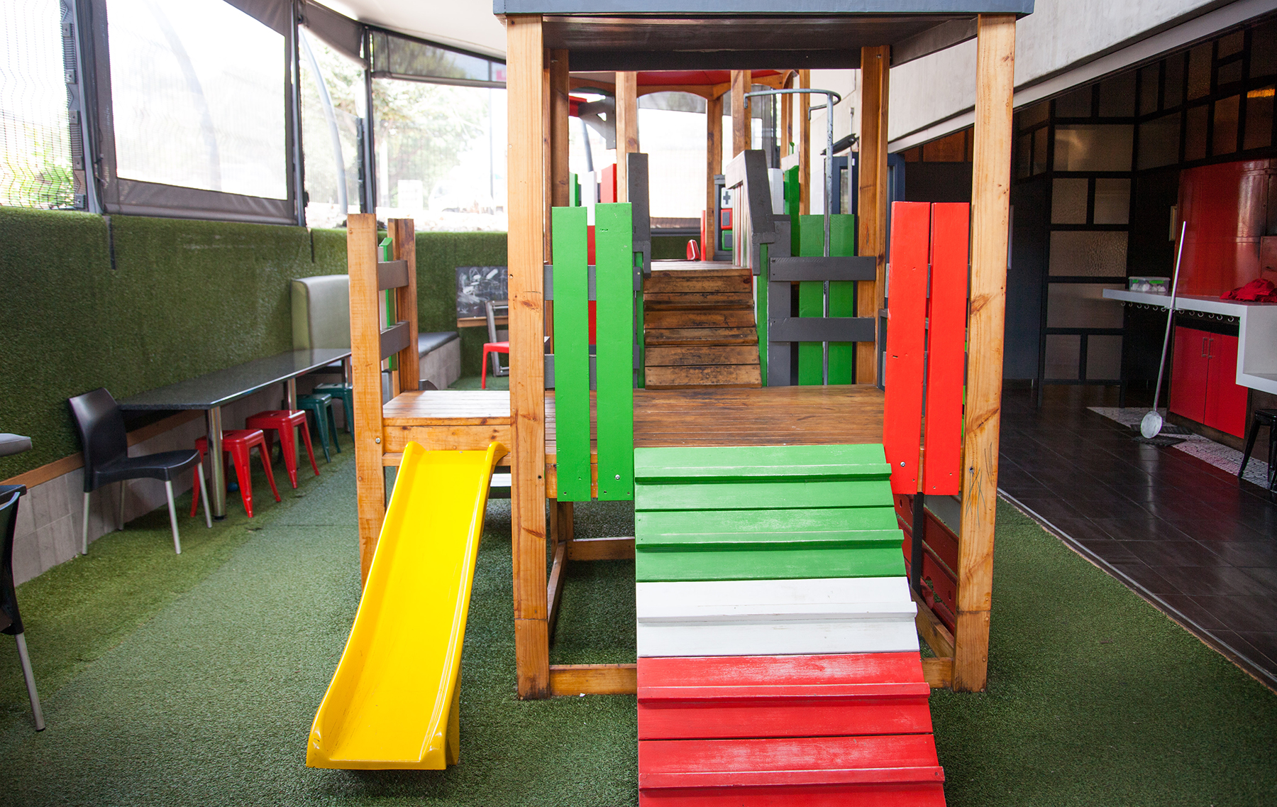 kids playground available restaurant